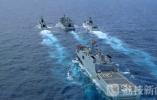 """海军成立70周年:海军""""二儿子""""水面舰艇部队超燃现身 荔枝军事"""