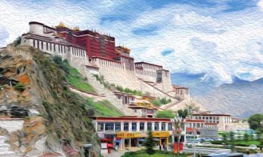 Tibetans revel in nature and development