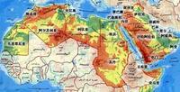 阿拉伯国家版图
