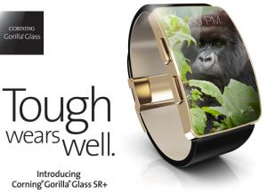 大猩猩玻璃 SR+ 面向智能手表市场开发