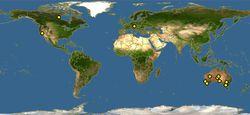 短尾矮袋鼠种群分布图