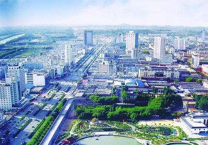 榆林城市图