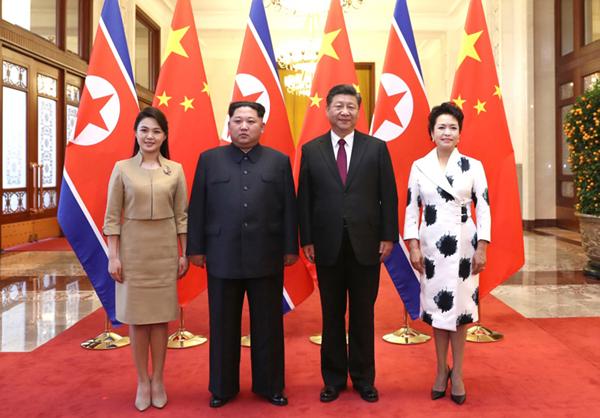 3月25日至28日,应中共中央总书记、国家主席习近平邀请,朝鲜劳动党委员长、国务委员会委员长金正恩对我国进行非正式访问。