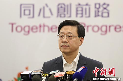 香港保安局局长撰文:感谢警队坚定不移维护法纪