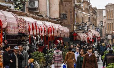 Kashgar: bustling hub of business, different cultures