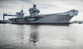 """英首相未给""""航母赴太平洋""""背书"""