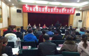 河南省舞蹈家协会第六届理事会