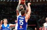 篮球世界杯 塞尔维亚胜捷克取得第五名