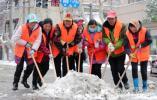 我因你而在|江苏句容降雪量15.9毫米 800多名环卫工人铲雪保畅通