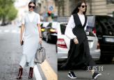 秋季选搭背带连衣裙,不能少的时髦出街装造型之一