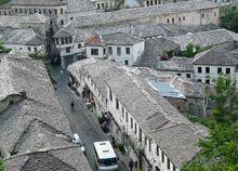 阿尔巴尼亚石头城