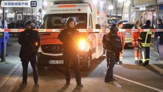 德国枪击案致8死5伤 警方已逮捕至少一名嫌疑人