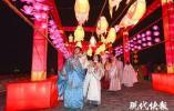 一秒点亮600年!南京城墙灯会正式亮灯