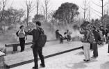北京世园会4月20日涌进10万人 浙江园成网红打卡地
