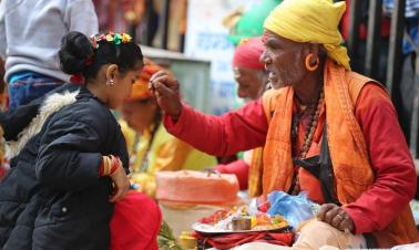 Manakamana Temple attracts devotees during Dashain festival