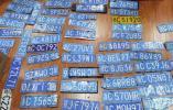有你的吗?台风期间,全市交警收集到400多块遗失的机动车号牌