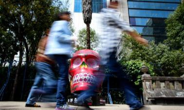 'Mexicraneos' exhibition held in Mexico City