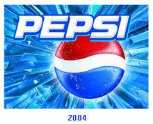 百事可乐2004年logo