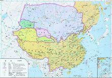 1583年明朝疆域