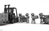 快递机器人到上海了 离杭州还远吗?
