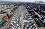 宁波舟山港迎来最大批次滚装汽车出口