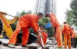 门坡破损影响出行,沙洲街道城管科协调解决(图文)