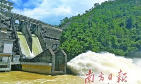 削减洪峰流量93% 白盆珠水库立大功