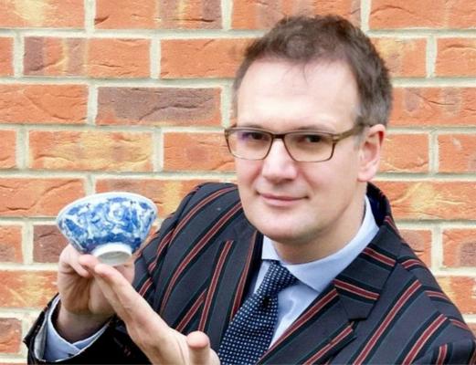 英国发现出自清朝的中国文物 拍卖金额或近30万