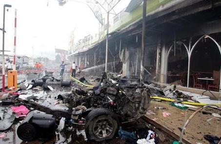 泰国南部宋卡府发生爆炸袭击事件8人受伤