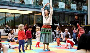 Building a lifelong love of opera in toddlers, one hop at a time