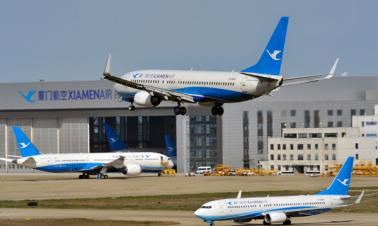 Passenger plane of China's Xiamen Airlines crash-lands at Manila airport