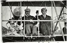罗斯福是首位体验空中旅行的美国总统