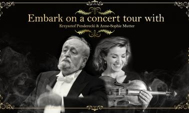 Embark on a concert tour with Penderecki, Anne-Sophie Mutter