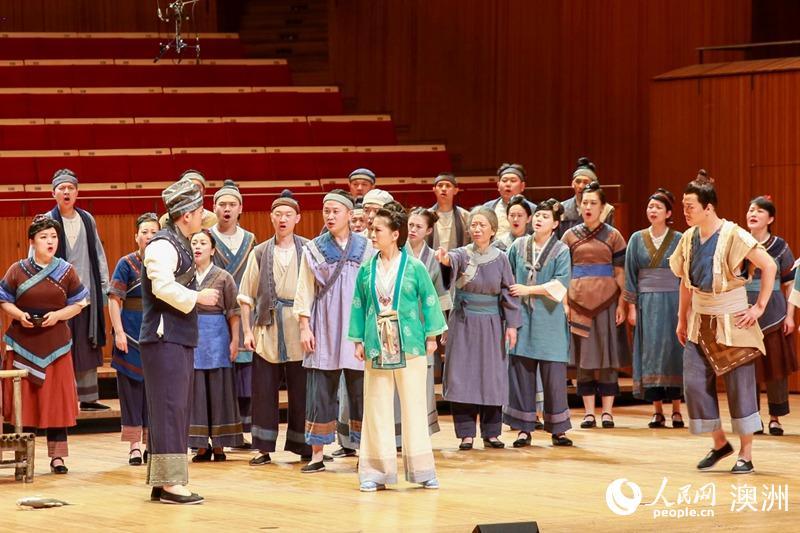 中国民族歌剧《刘三姐》在悉尼歌剧院开唱