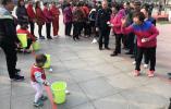 谈固社区举办老年趣味运动会喜迎重阳节