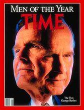 时代周刊1990年度风云人物:老布什