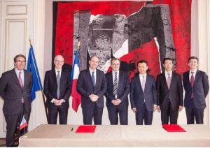 万达集团与欧尚集团签订协议