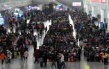 """春运首日,南京""""公铁航""""客流量约32.4万人次"""