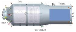 天舟一号货运飞船构造