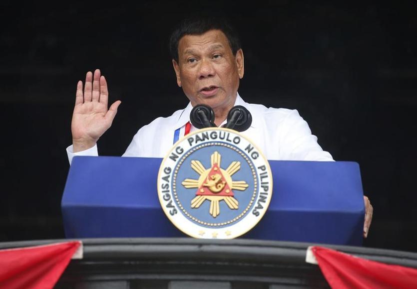 菲总统府:杜特尔特向中国保证,不?#24066;?#26680;武器在菲律宾出现
