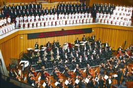 中俄乐团共奏 《黄河大合唱》