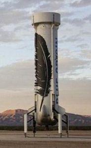 回收后的New Shepard火箭