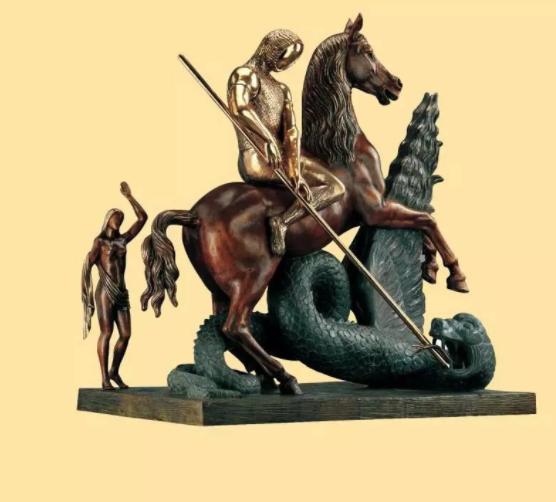 达利雕塑作品