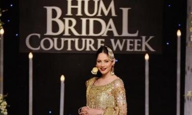 Last day of Bridal Couture Week in eastern Pakistan's Lahore