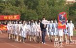 创意入场、田径联赛开赛,丰富多彩的校园运动会在南京各大校园