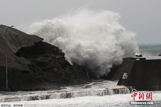 双台风威胁日本 日本气象厅呼吁留意强风大雨