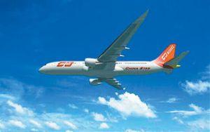 中国C919大型客机效果图