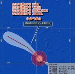 台风影响范围